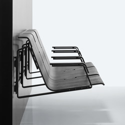 Zipp wallmounted | Waiting area benches | Magnus Olesen