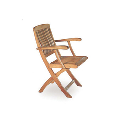 Del Rey DEL 55 Folding Armchair | Chairs | Royal Botania