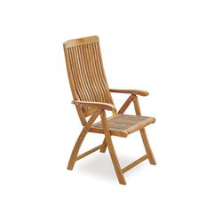 Del Rey DEL 60 Folding Recliner Chair | Garden chairs | Royal Botania