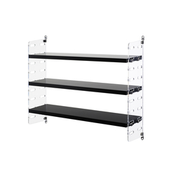 string plex pocket black | CD racks | string furniture