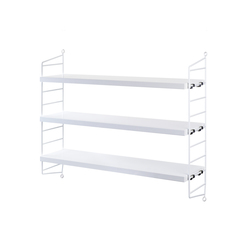 string pocket white | Scaffali | string furniture