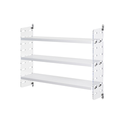 string plex pocket white | CD racks | string furniture