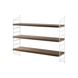 string pocket walnut | CD racks | string furniture