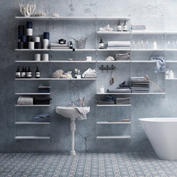 String System, plex panels | Bath shelving | string furniture
