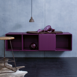 q18_deep purple | Shelving systems | qubing.de