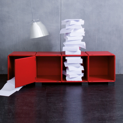 q18_high red | Shelving modules | qubing.de
