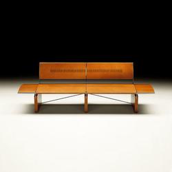 África banco con respaldo | Upholstered benches | Tresserra