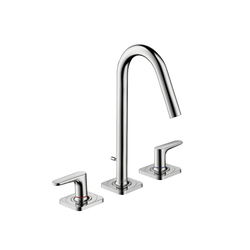 AXOR Citterio M 3-Hole Basin Mixer with escutcheons DN15 | Wash basin taps | AXOR