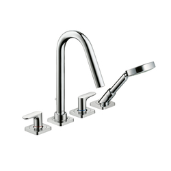 AXOR Citterio M 4-Hole Tile -mounted Bath Mixer DN15 | Bath taps | AXOR