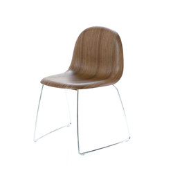 Gubi Chair – Sledge Base | Chairs | GUBI