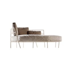dehors outdoor dormeuse 373 | Sun loungers | Alias