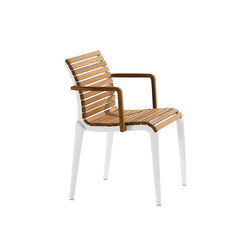 teak chair 476 | Garden chairs | Alias