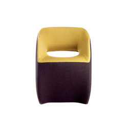 OM | textile armchair | Visitors chairs / Side chairs | Mobles 114