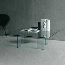 Glass Table | Couchtische | Glas Italia