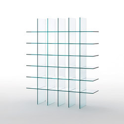 Glass Shelves #1 | Shelving systems | Glas Italia