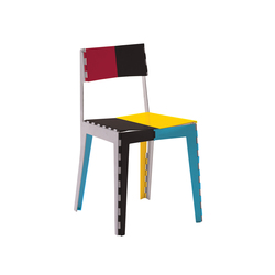 Stitch Chair | STC/1PC | Restaurantstühle | Cappellini