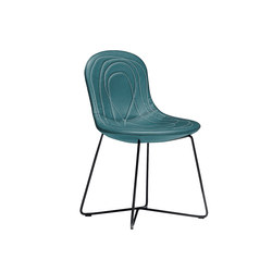 Doodle | Restaurant chairs | Tacchini Italia
