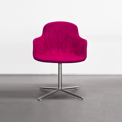Doodle | Visitors chairs / Side chairs | Tacchini Italia