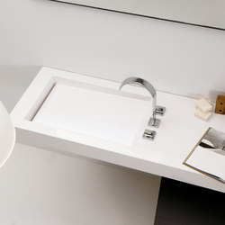 A. Corian® Washbasin Countertop | Wash basins | Inbani