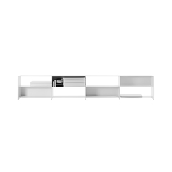 Fill bookcase system | Shelves | Desalto