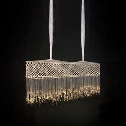 Bobbin Lace Bar Suspended Lamp | Iluminación general | Quasar