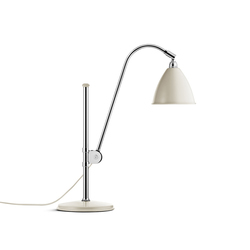 Bestlite BL1 Table lamp | Off-White/Chrome | Lámparas de trabajo | GUBI