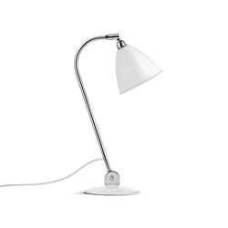 Bestlite BL2 Table lamp | Matt White/Chrome | Arbeitsplatzleuchten | GUBI