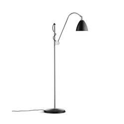 Bestlite BL3 S Floor lamp | Black/Chrome | General lighting | GUBI