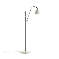 Bestlite BL3 S Floor lamp | Off-White/Chrome | General lighting | GUBI