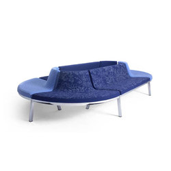 Flow Lounge | Seating islands | Magnus Olesen