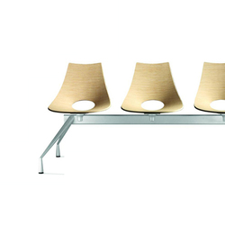 Hoopla/P2-P3-P4 | Beam / traverse seating | Parri Design