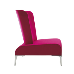 Alphabet - Fi Tall | Armchair | Poltrone lounge | Segis