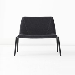 Plate Armchair | Lounge chairs | Kristalia