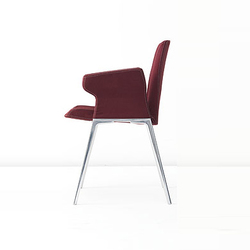 Plate Chair | Visitors chairs / Side chairs | Kristalia
