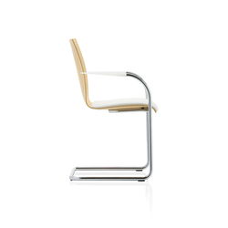 fina 6406/A | Visitors chairs / Side chairs | Brunner