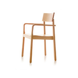 S11 chair with arms | Sillas | B+W