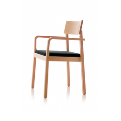 S11 chair with arms | Sedie | B+W
