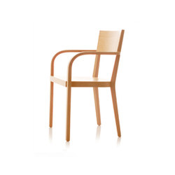 S12 chair with arms | Sedie | B+W