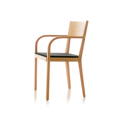S12 chair with arms | Restaurant chairs | B+W