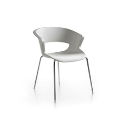 Zed 4 legs stackable in polypropylene | Multipurpose chairs | Maxdesign