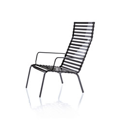 Striped Low chair | Gartensessel | Magis