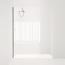 Orne Barcode | Shower screens | antoniolupi