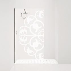 Orne Fiorito1/P left | Shower screens | antoniolupi