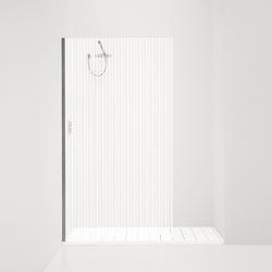 Orne Rigato | Shower screens | antoniolupi