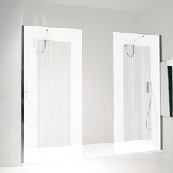 Orne Rigato Cornice | Shower screens | antoniolupi