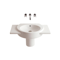 Happening basin with semi-pedestal | Lavabos | ROCA