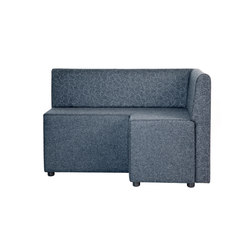 B-Bitz Benny with back | Modular seating elements | Johanson