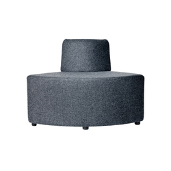 B-Bitz Bond with short back | Modular seating elements | Johanson