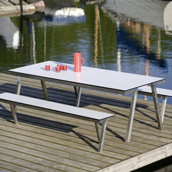 H 840 VA Table & H 841 Concept 47 Bench | Tavoli e panchine | Hansen