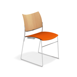 Curvy 3289/00 | Visitors chairs / Side chairs | Casala